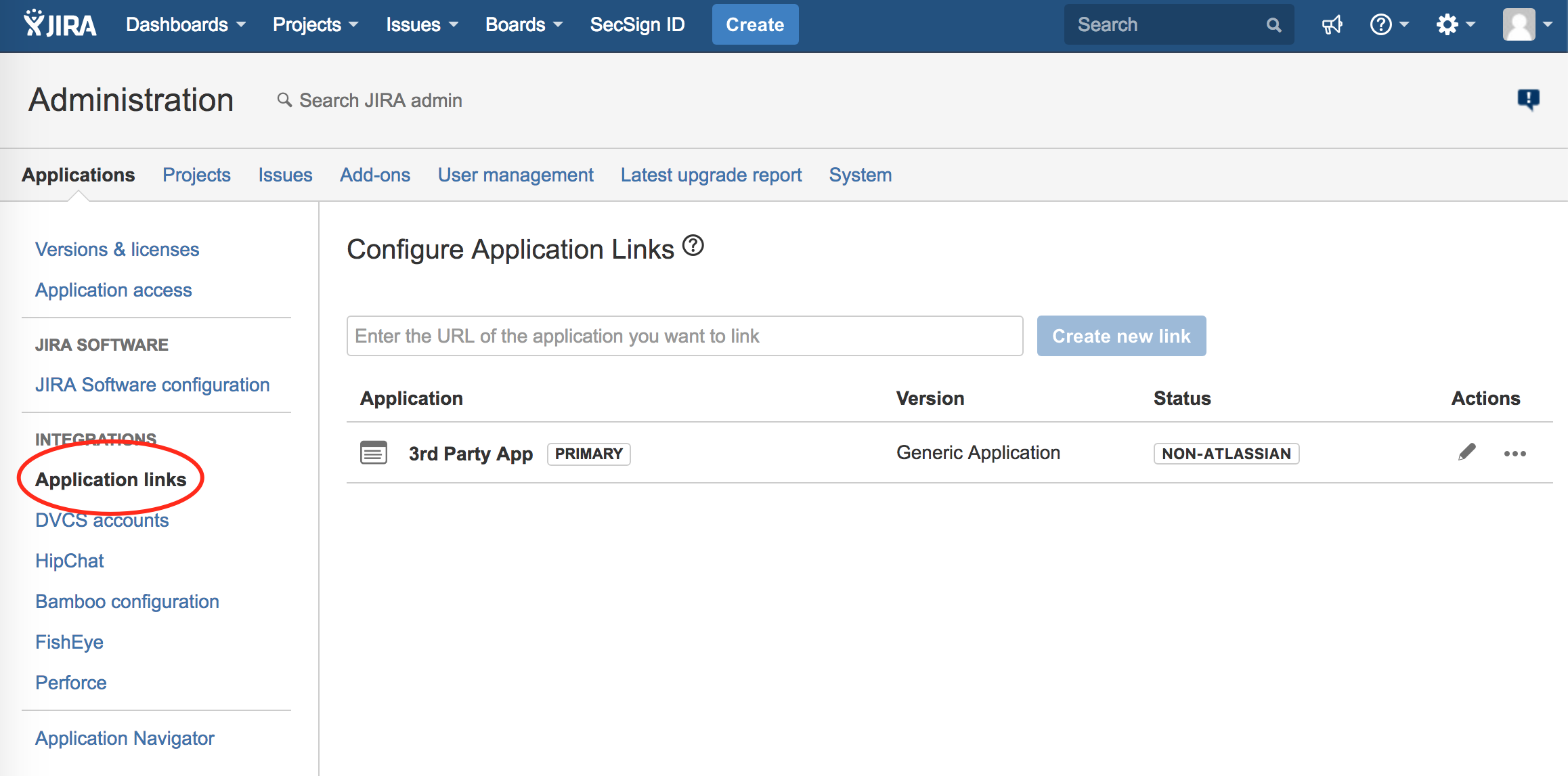 Jira Rest API OAuth Two Factor Authentication | SecSign 2FA