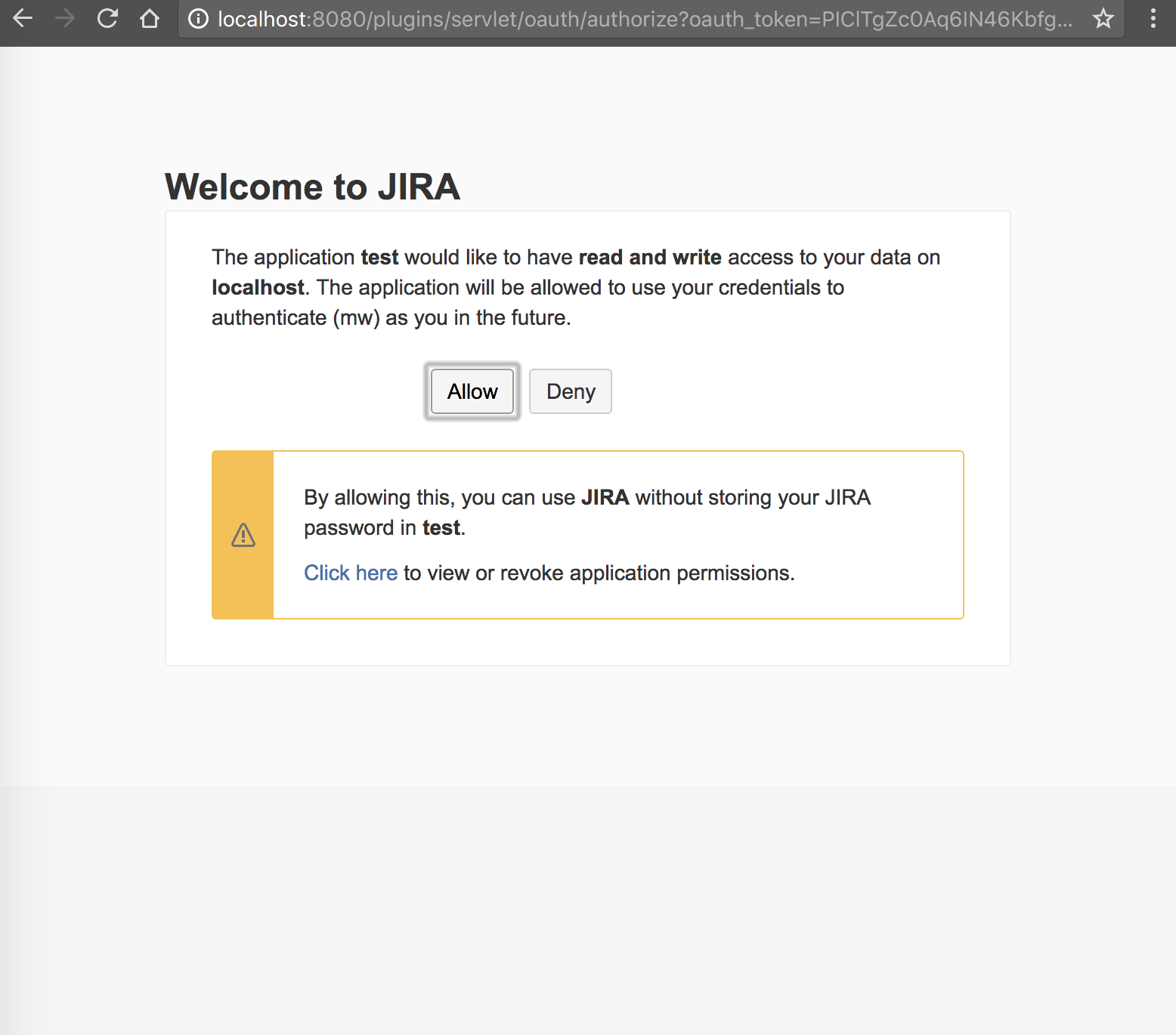 Jira rest api oauth two factor authentication secsign 2fa jira will ask if you give the third party app the permission to read and write content under your account after approving the access jira will confirm baditri Gallery