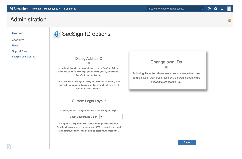 Bitbucket-change-secsignid