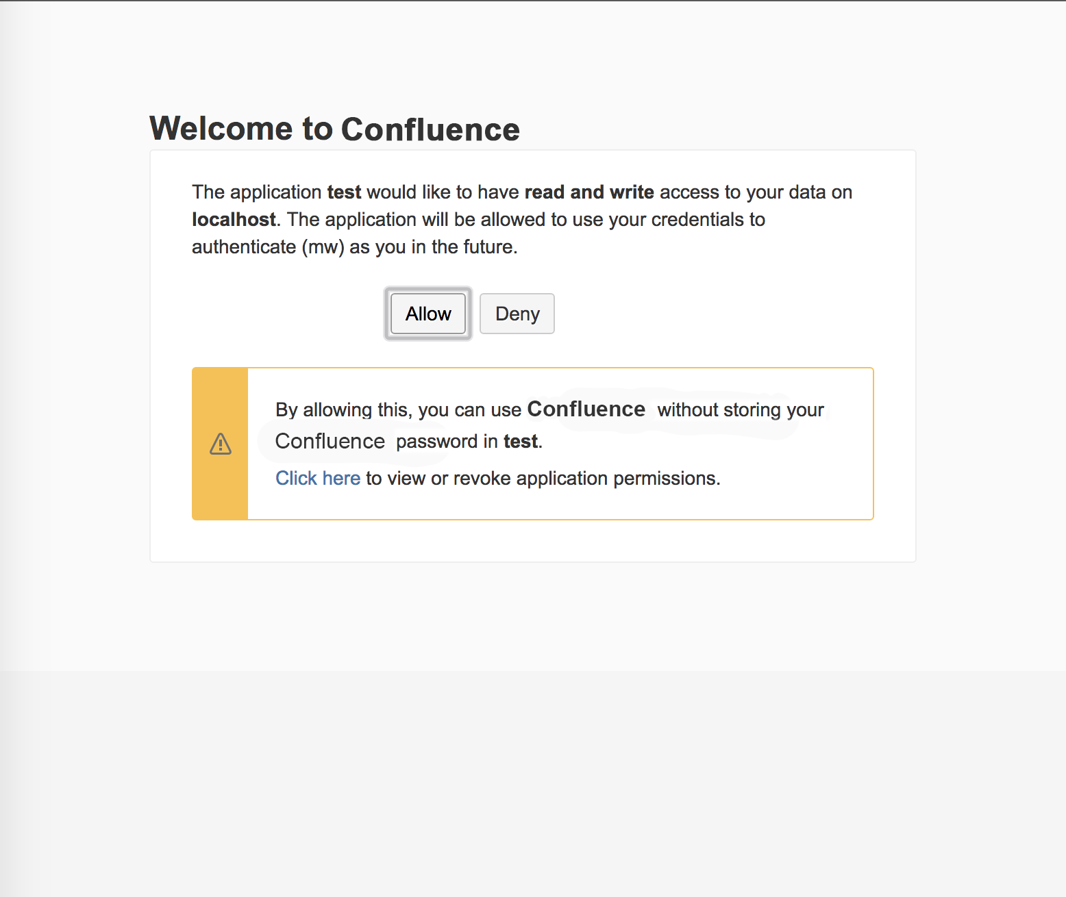 Confluence Rest API OAuth Two Factor Authentication