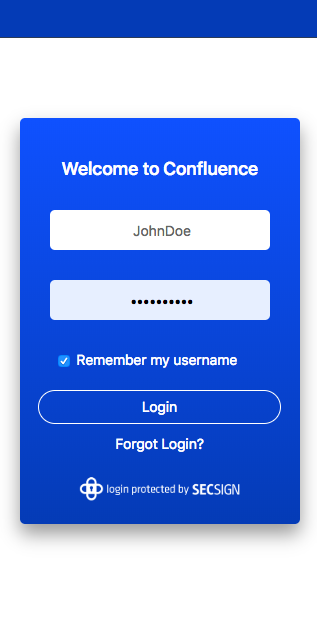 Confluence Two-Factor Authentication | SecSign 2FA